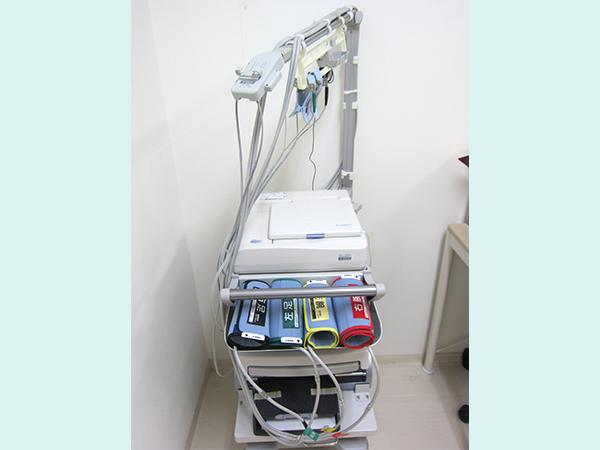 【画像】⾎圧脈波検査装置(CAVI・ABI)
